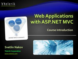 Web Applications with ASP.NET MVC