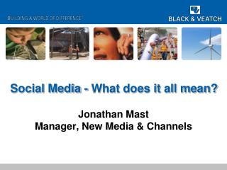 Social Media - What does it all mean?