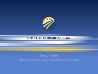CHSRA 2012 Business Plan