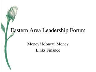 Eastern Area Leadership Forum