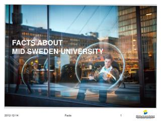 Facts about Mid Sweden  university