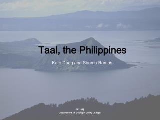 Taal , the Philippines