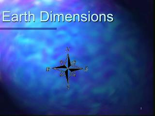 Earth Dimensions