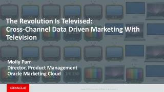 The Revolution Is Televised: Cross-Channel Data Driven Marketing With Television