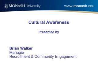 Cultural Awareness Presented by