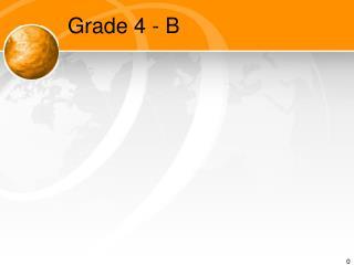Grade 4 - B