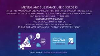 You can also visit recoverymonth