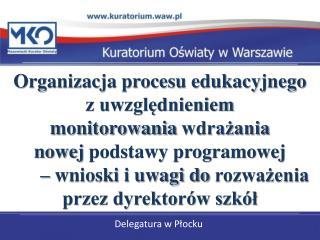 Delegatura w Płocku