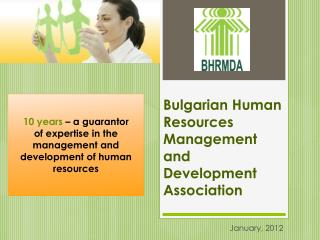 Bulgarian Human Resources Management and Development Association