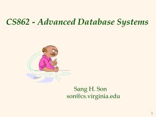 CS862 - Advanced Database Systems