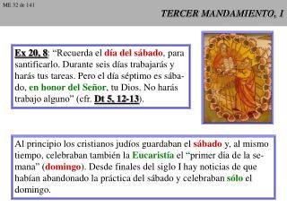 TERCER MANDAMIENTO, 1