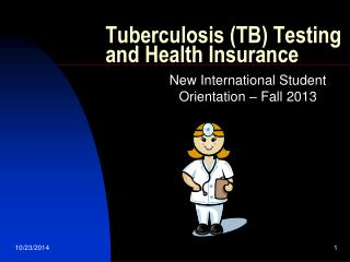 Tuberculosis (TB) Testing and Health Insurance