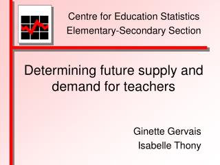 Determining future supply and demand for teachers