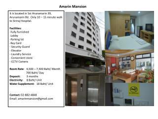 Amarin Mansion