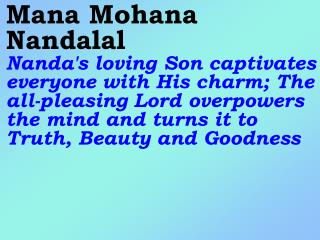Old 698_New 830 Mana Mohana Nandalal