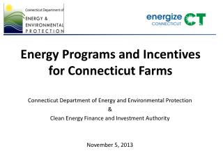 Energy Programs and Incentives for Connecticut Farms