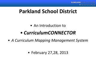 Parkland School District