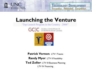 Launching the Venture