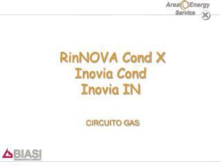 RinNOVA Cond X Inovia Cond Inovia IN CIRCUITO GAS
