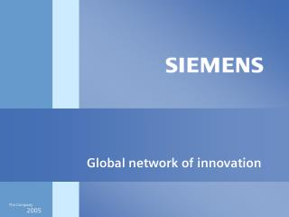 Global network of innovation