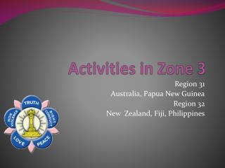Activities in Zone 3
