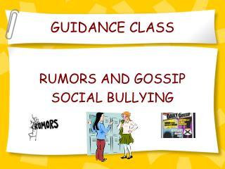 GUIDANCE CLASS