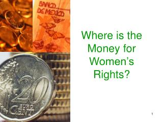 Where is the Money for Women's Rights?