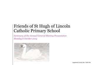 Friends of St Hugh of Lincoln Catholic Primary School