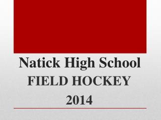 Natick High School