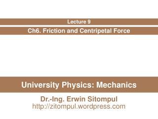 University Physics: Mechanics
