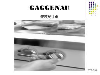 GAGGENAU 安裝尺寸圖