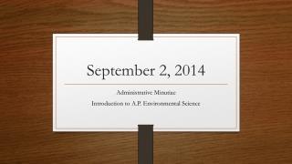 September 2, 2014