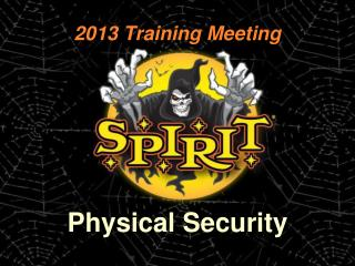 2013 Training Meeting