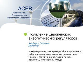 Появление Европейских энергетических регуляторов