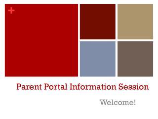 Parent Portal Information Session