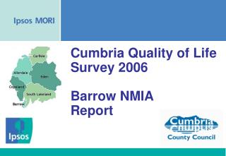Cumbria Quality of Life Survey 2006 Barrow NMIA Report