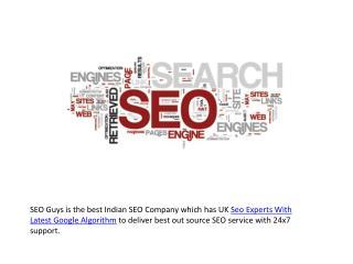 Uk Seo Experts With Latest Google Algorithm
