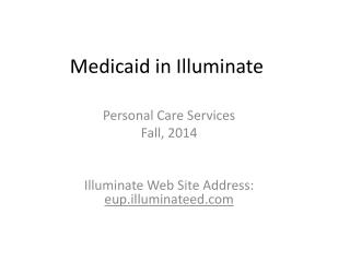 Medicaid in Illuminate
