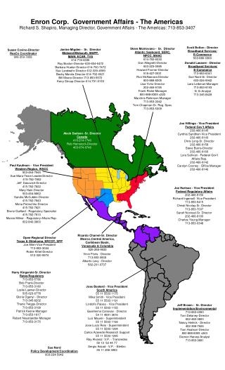 Aleck Dadson -Sr. Director Canada 416-214-1740 Rob Hemstock-Director 403-974-6746