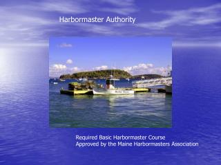 Harbormaster Authority
