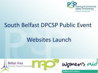 South Belfast DPCSP Public Event