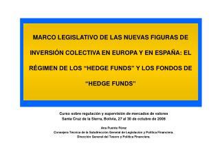 Curso sobre regulación y supervisión de mercados de valores