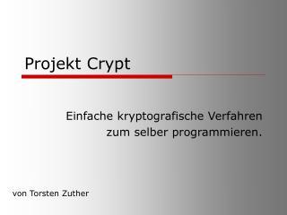 Projekt Crypt