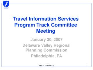 Travel Information Services Program Track Committee Meeting