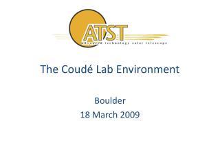 The Coudé Lab Environment