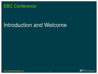 EBC Conference