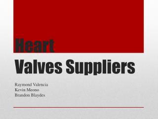 Heart Valves Suppliers