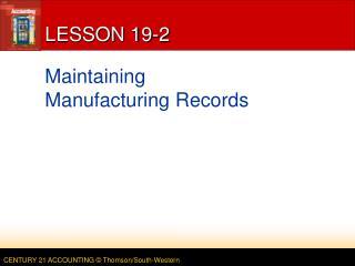 LESSON 19-2