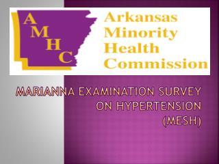 Marianna Examination Survey on Hypertension (MESH)