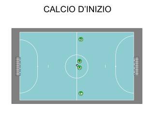 CALCIO D'INIZIO
